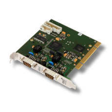 CAN-PCI/400 PCI CAN Hardware Interface with 2 or 4 CAN Channels