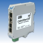 EtherCAT® / CAN Gateway Linking EtherCAT® and CAN